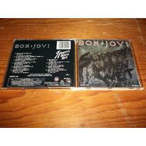 Bon Jovi - Slippery When Wet Cd Nacional Ed 1990 Mdisk
