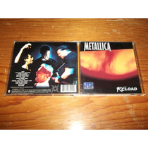 Metallica - Reload Cd Nacional Ed 1997 Mdisk