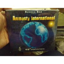 Buddha Bar Amnesty International 40th Anniversary Cd Nvo Imp