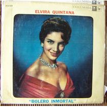 Bolero, Elvira Quintana, Bolero Inmortal, Lp 12´, México
