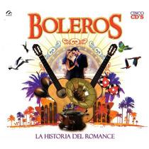 Boleros Boxset De 5 Cds De Varios: La Historia Del Romance