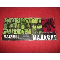Masacre - Demoledor Rock Peruano Cd Peru Ed 2001 Mdisk