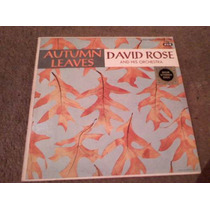 Disco Lp De David Rose Autumn Leaves
