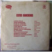Bolero, Varios, Lucha Villa, Piporro, Exitos Rancheros, Lp12