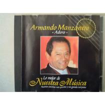 Armando Manzanero Cd Adoro Lo Mejor De Nuestra Musica