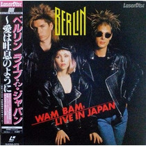 Laserdisc Berlin Wam Bam Live In Japan Terri Nunn Touch 1987