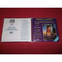 Sonia Lopez - La Sonora Santanera Cd Imp Ed 1992 Mdisk