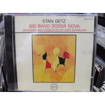 Stan Getz Big Band Bossa Nova Cd Nuevo Importado Jazz Bossa