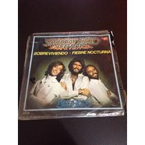 Disco De Vinil De 45 Rpm Bee Gees Saturday Night Fever