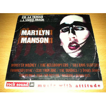 Marilyn Manson, Rock Sound 34 Cd Promo Muy Raro De 2000