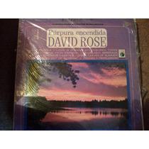 Disco Acetato De Purpura Encendida David Rose