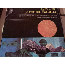 Disco De Acetato De Carl Orff Carmina Burana