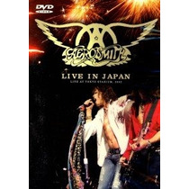 Aerosmith Live In Japan Dvd
