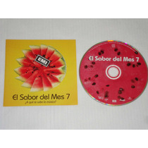 El Sabor Del Mes 7 - Varios 1996 Cd Normal Emi U.s.a