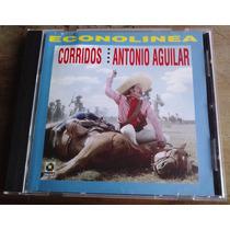 Antonio Aguilar Corridos Cd 1a Ed 2001 Mdn 