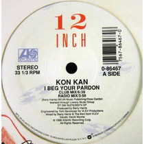 Kon Kan - I Beg Your Pardon Single Lp Importado De Usa