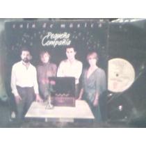 Disco Lp De Acetato Pequeña Compañia, Caja De Musica