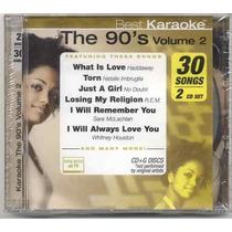 Karaoke The 90´s Vol. 2 ( 2 Cd ) Nuevos