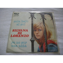 Silvana Di Lorenzo. Sola Bajo El Sol. Disco S.p.