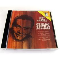 Genaro Salinas / Adios Para Siempre Cd Raro Peerless 1991