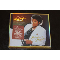 Michael Jackson 25 Aniversario Thriller Cd + Dvd. Nuevo