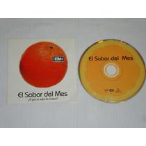 El Sabor Del Mes - Varios En Ingles Cd Promo Emi