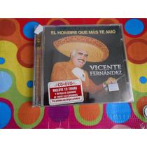 Vicente Fernandez.cd.el Hombre Que Mas Te Amo.2010. 2cds