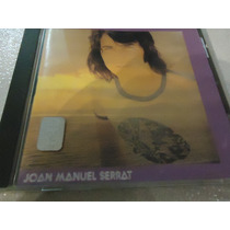 Cd Joan Manuel Serrat Mediterraneo Impecable