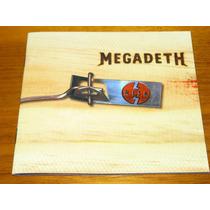 Megadeth Risk Thrash Metal Cd Internacional Importado