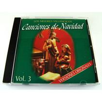 Canciones De Navidad Los Mejores Villancicos Cd Vol 3