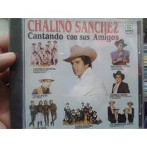 Cd Chalino Sanchez Cantando Con Sus Amigos Nuevo Y Sellado