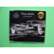 Limp Bizkit - My Generation #2 - (cd, 2000, Inglaterra)