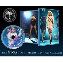 Madonna The Mdna Tour Miami (florida U.s.a.) + Album Doble.