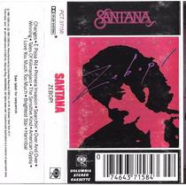 Carlos Santana: Zebop! Cassette Usado 1ra Edición 1981 Usa.