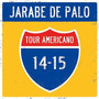 Tour Americano 14-15 / Jarabe De Palo / Disco Cd + Dvd