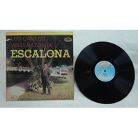 Musica Tropical Cantos Vallenatos De Escalona Lp Colombiano