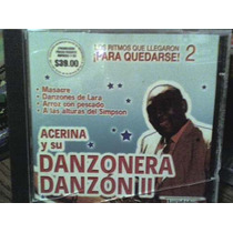 Cd Acerina Y Su Danzonera