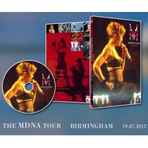 Madonna The Mdna Tour Birmingham (u.k.) Dvd + Album Doble.