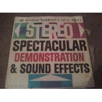 Disco Lp De Stereo Spectacular Demosntration & Sounds Effect