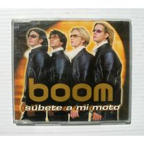 Boom Subete A Mi Moto - Remix Cd Sencillo Mexicano 2002