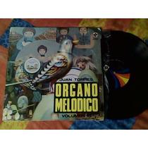 Disco Lp De Acetato Juan Torres Y Su Organo Melodico Vol.15