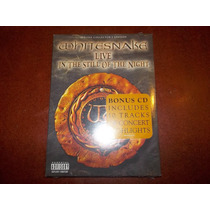 Whitesnake Live In The Still Of The Night Dvd+cd Nuevo Vmj