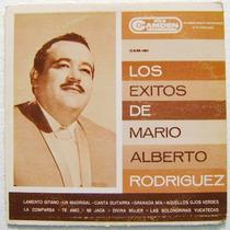 Mario Alberto Rodríguez / Los Éxitos... 1 Disco Lp Vinil