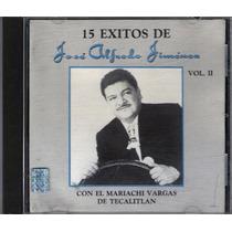 Jose Alfredo Jimenez Cd 15 Exitos 1989