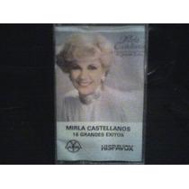 Audio Cassette Mirla Castellanos, 16 Grandes Exitos