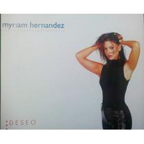Myriam Hernandez Deseo Cd Sencillo Mexicano, Raro