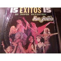 Disco Acetato De 15 Exitos De Super Reventon Los Joao