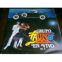 Disco Acetato De Grupo Latino En Vivo Vol.ii