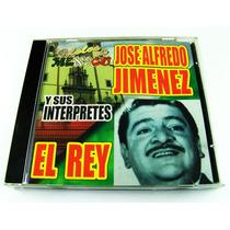 Idolos De Mexico Jose Alfredo Jimenez Y Sus Interpretes Cd
