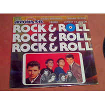 Disco Lp Historia Del Rock And Roll Vol.1 Frankie Avalon Etc